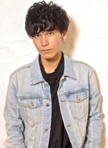 ツーブロックマッシュスタイル(髪型メンズ)