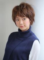 フェミニン・ショート(髪型ショートヘア)