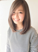 髪質改善ツヤストレート  縮毛矯正◎(髪型ミディアム)