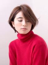 ふわくしゅフェミニンショート(髪型ボブ)