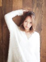 大人女子楽チンヘア(髪型ミディアム)