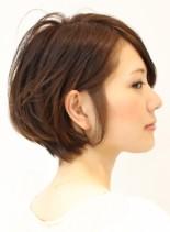 耳かけナチュラルボブ☆(髪型ボブ)