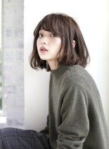 リラクシーAラインボブ(髪型ボブ)