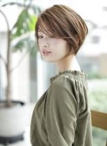 大人カジュアルショート(髪型ショートヘア)