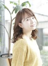 艶×ボリューム【ホットスチームパーマ】(髪型セミロング)