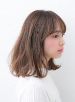 ラフスウィートミディ♪(髪型ミディアム)