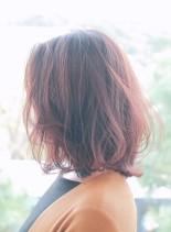 大人ロブスタイル(髪型ミディアム)