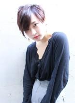 モードアシメ(髪型ショートヘア)