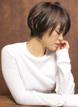 大人の骨格矯正タイトショート(髪型ショートヘア)