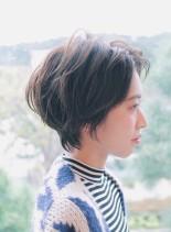 柔らか大人ショート(髪型ショートヘア)