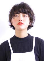 ラフなひし形マッシュショート(髪型ショートヘア)