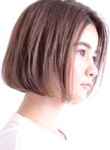 大人のシンプル美フォルムボブ☆(髪型ボブ)
