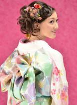 成人式・卒業式などに♪和装ヘアアレンジ(髪型ロング)