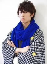 男性の成人式・和装 袴スタイル(髪型メンズ)