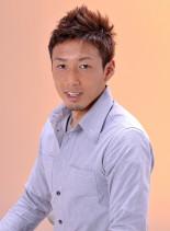 ソフトモヒカンスタイル(髪型メンズ)
