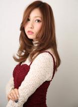 大人かわいいレイヤーロングヘア(髪型ロング)