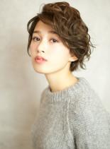 オシャレ最前線!スポンテニアスショート☆(髪型ショートヘア)