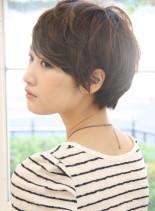 大人女子にオススメショート(髪型ショートヘア)