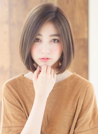 人気No.1大人可愛いボブ(髪型ボブ)