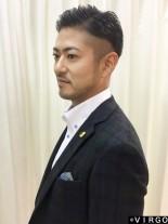 出来る男の好印象 七三分けツーブロック☆(髪型メンズ)