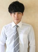 【ビジネスヘア】スマートマッシュスタイル(髪型メンズ)
