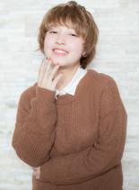外国人風マッシュショート(髪型ショートヘア)