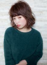 ゆるふわガーリーボブ(髪型ボブ)