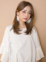 オーダー率NO1セミロング(髪型ロング)