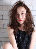春ふわ(髪型セミロング)