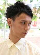大人カジュアルショート(髪型メンズ)