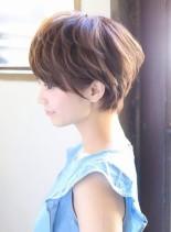 すっきりショートボブ☆(髪型ショートヘア)
