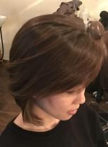 オトナなグラデーションボブ(髪型ボブ)
