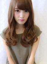 ほんのり大人スタイル(髪型ロング)