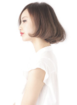 春らしいボブスタイル(髪型ボブ)