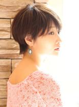 大人女子・上戸彩風ショート(髪型ショートヘア)