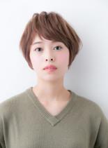 30代40代にオススメな束感ショート(髪型ショートヘア)