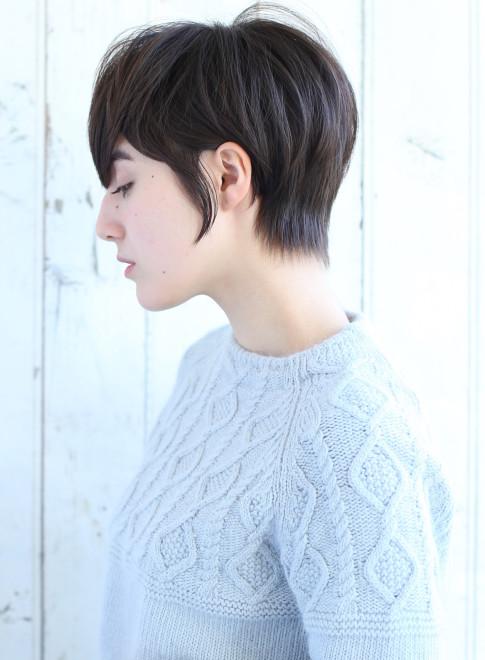 ショートヘア】大人カジュアル女...