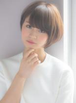 2017人気の大人かわいい小顔ショート(髪型ショートヘア)