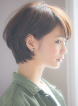 大人の愛されふんわりショート(髪型ショートヘア)