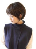 大人女子・ひし形シルエットが綺麗(髪型ボブ)