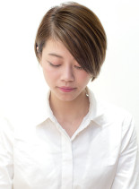 米倉涼子さん風ショートボブ(髪型ショートヘア)