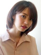 30.40代からの大人かわいい髪型(髪型ボブ)