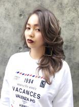 LA girl (髪型ロング)