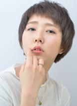 カジュアルショート(髪型ショートヘア)