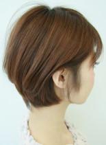 美シルエットの耳かけボブ☆(髪型ボブ)