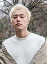 ★イメチェン!ホワイトカラー!刈り上げ★(髪型メンズ)