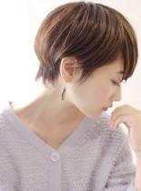 女性らしい 大人のクールショート(髪型ショートヘア)