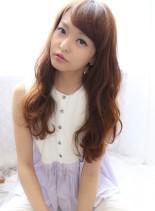 ゆるやわウェーブスタイル(髪型ロング)
