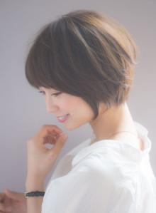 大人シルエットキレイなショート☆(ビューティーナビ)