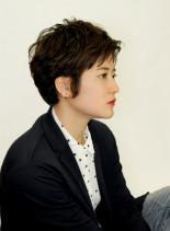 マニッシュ(髪型ショートヘア)
